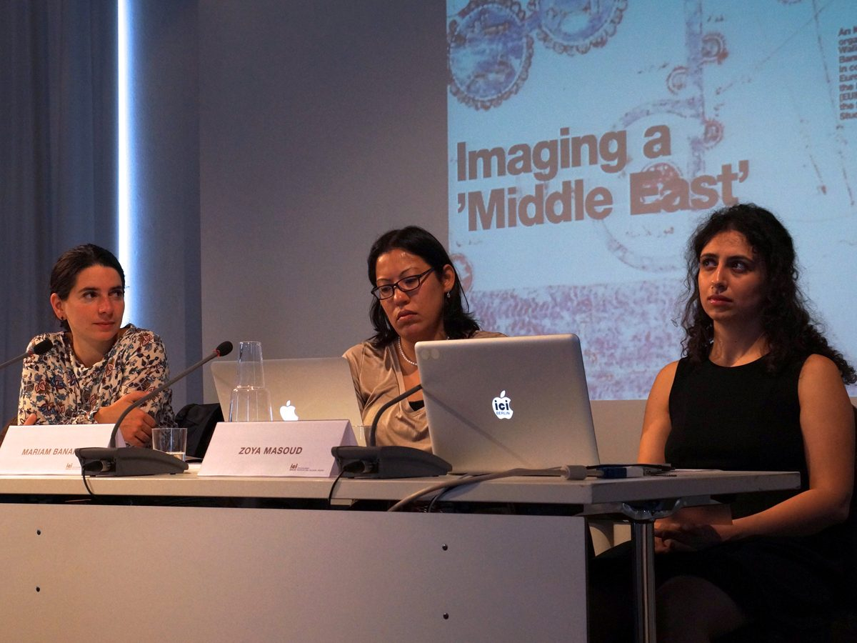 Symposium Imaging a 'Middle East'