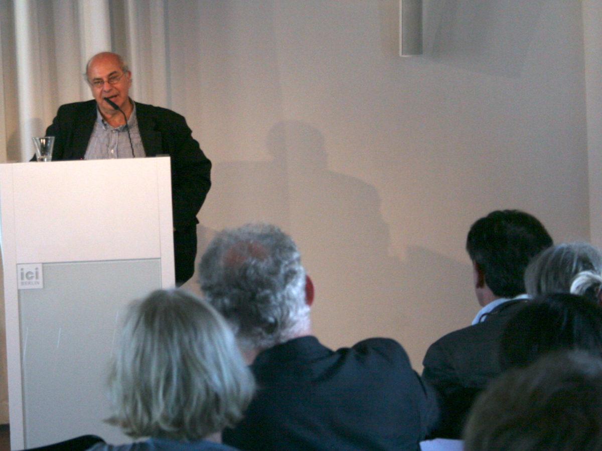 Lecture Giacomo Marramao