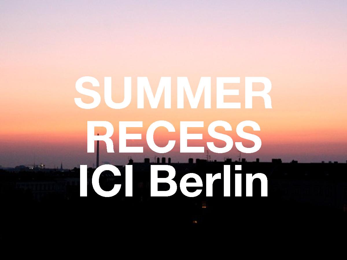 kv summer recess