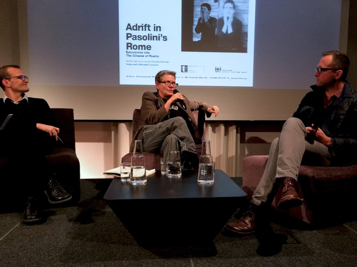 Discussion Adrift in Pasolini's Rome