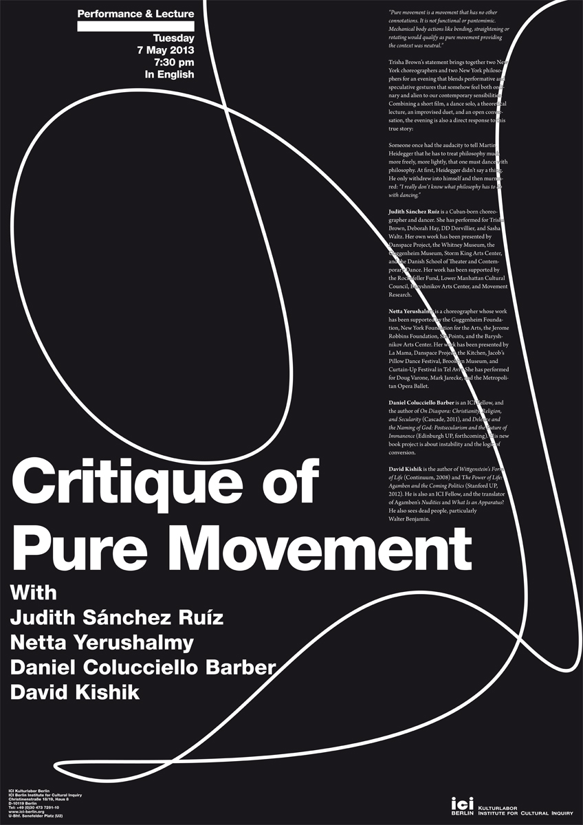 Poster Critique of Pure Movement.indd