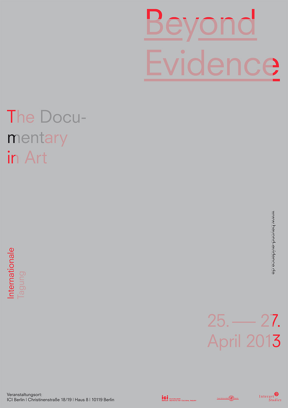 Poster Beyond Evidence