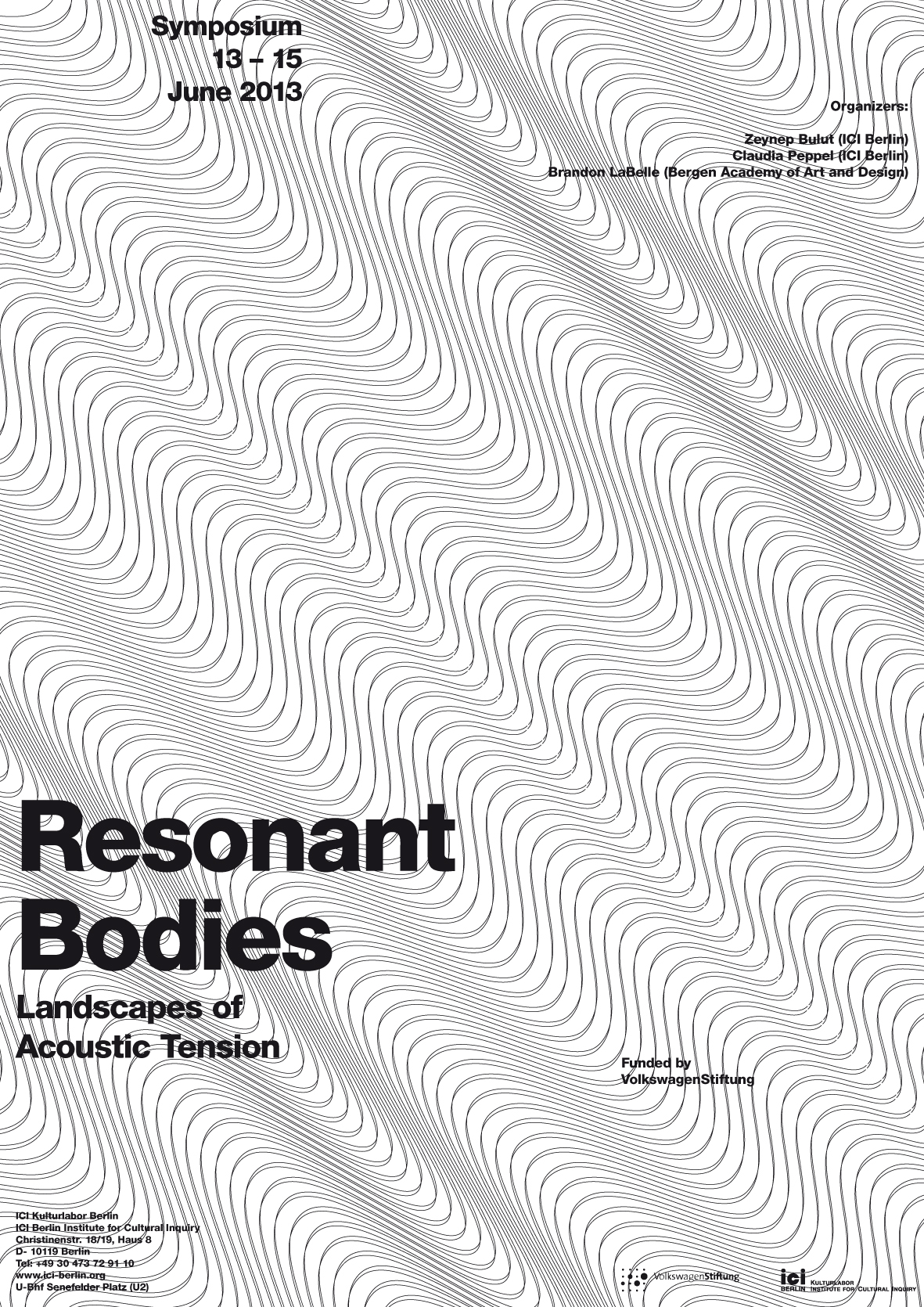 Poster Resonant Bodies