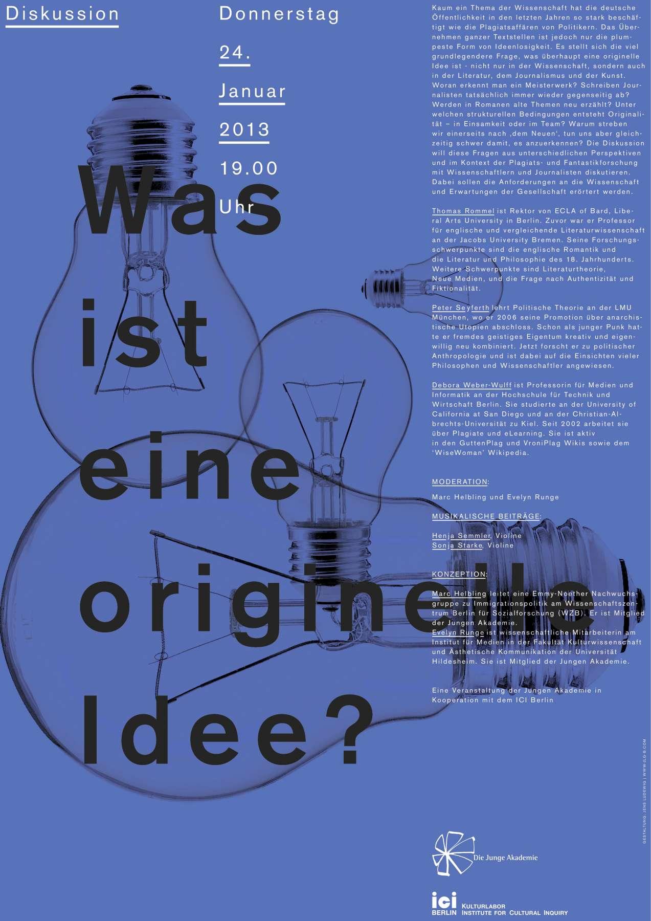 Poster was ist eine originelle idee