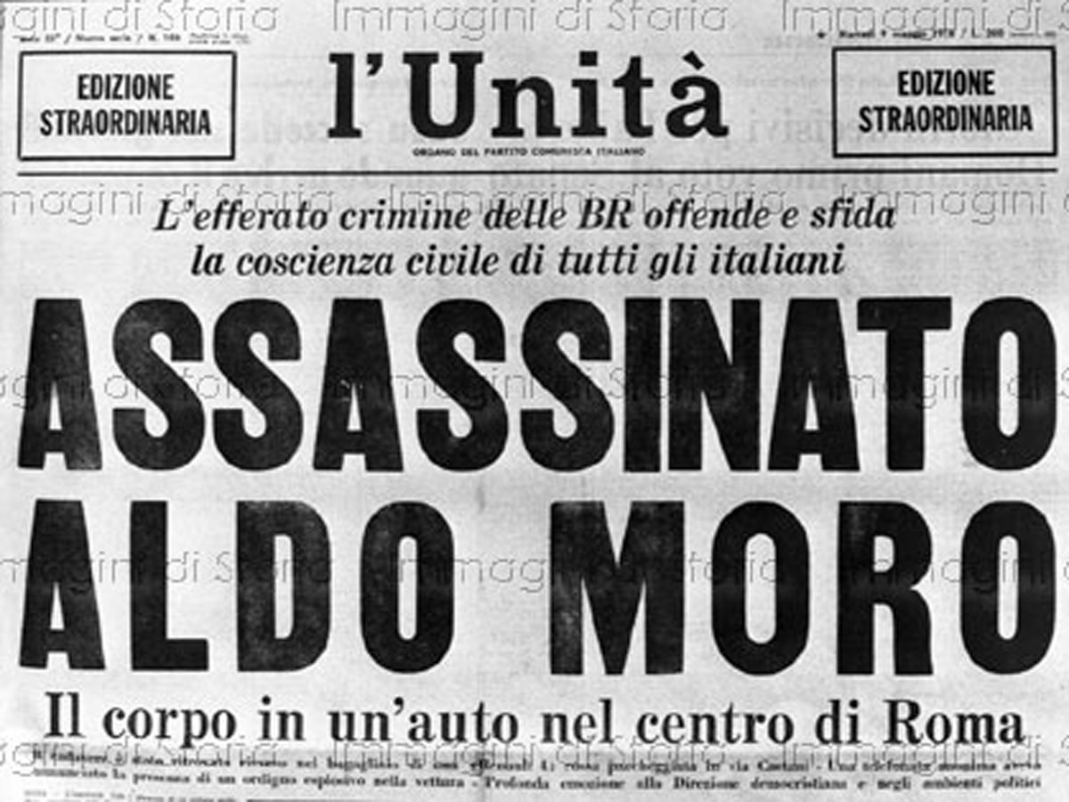 Lesung Aldo Moro