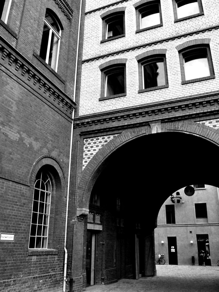 Eingang ICI Berlin