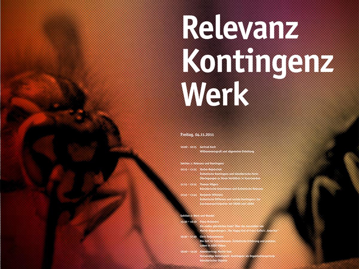 Kv Relevanz Kontingenz Werk