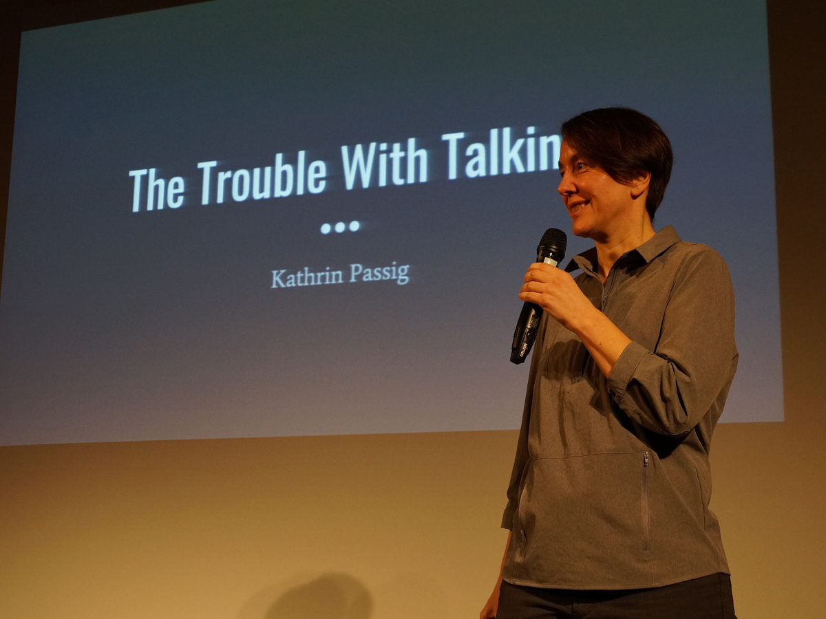 Lecture Kathrin Passig