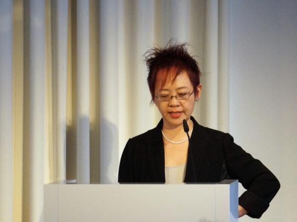 Lecture Lydia H. Liu © Ines Gerber