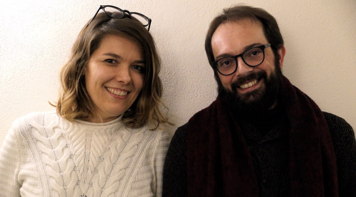 Cristina Baldacci and Francesco Giusti
