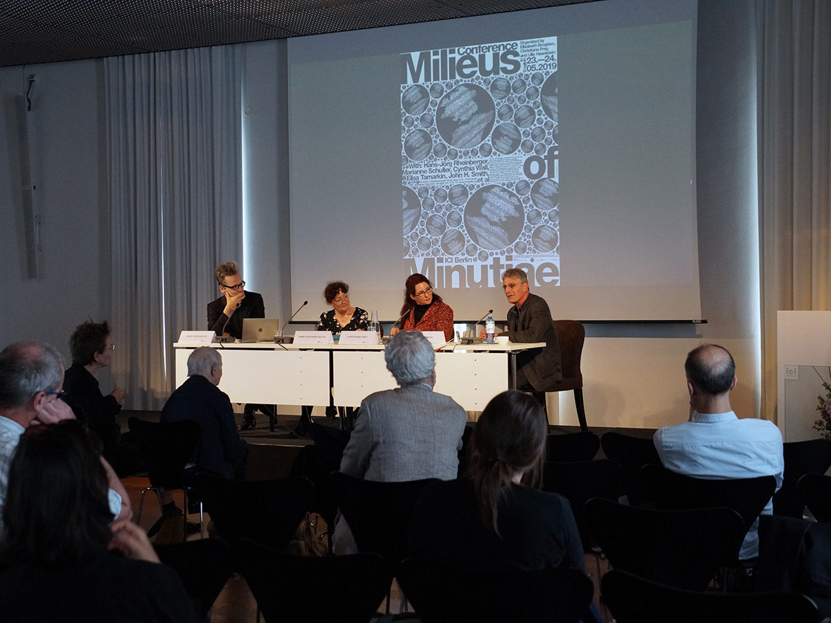 Conference Milieus of Minutiae