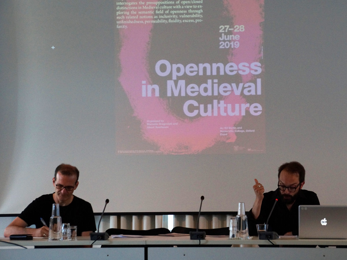 Symposium Openness in Medieval Culture