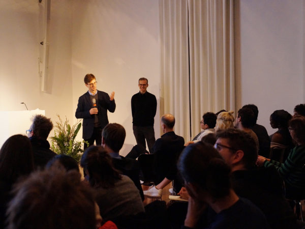 Lecture Federico Luisetti
