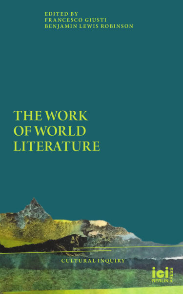 Cover The Work of World Literature