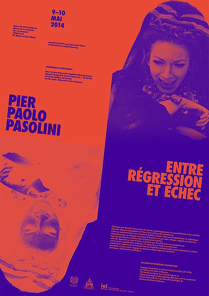 Poster Pasolini regression echec