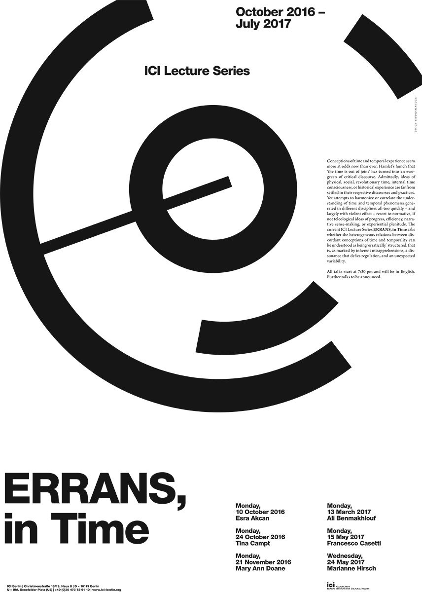 errans in time poster
